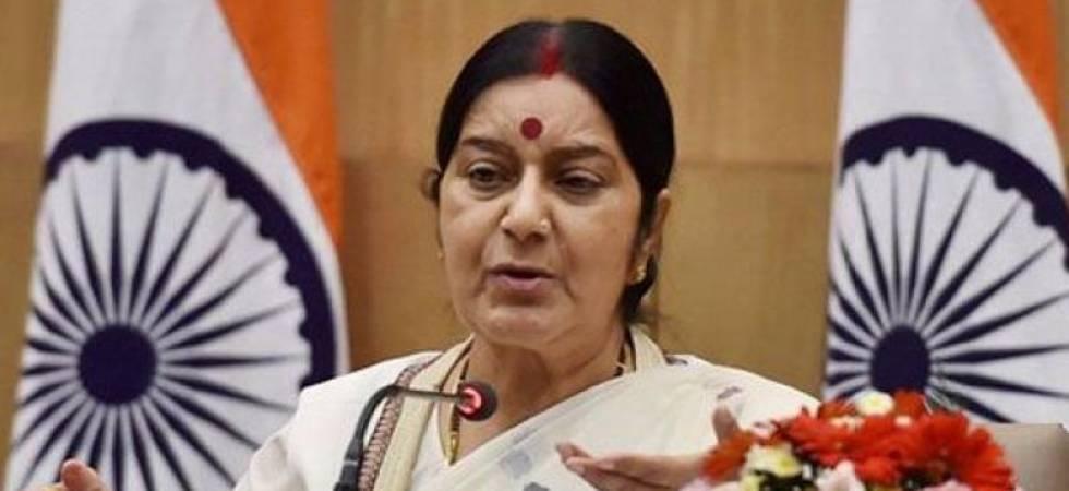External affairs minister Sushma Swaraj - File photo