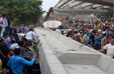 Varanasi Flyover collapse: Five Warning letters, all ignored
