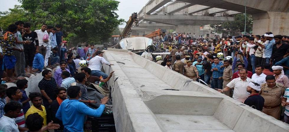 At least 18 people died in an incident where an under-construction flyover collapsed in Varanasi