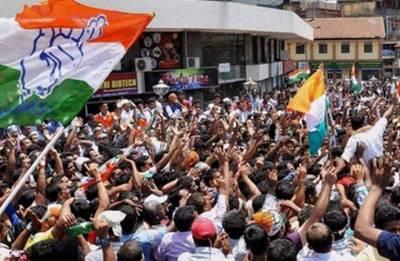 Karnataka effect: Congress holds protests across Meghalaya