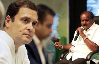 Kumaraswamy to meet Rahul Gandhi in Delhi tomorrow; cabinet discussion on agenda
