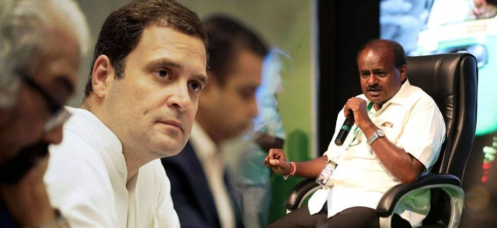 Kumaraswamy to meet Rahul, Sonia Gandhi today