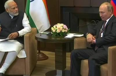 Sochi Summit: PM Modi meets Putin, hails Russia's role in helping India get permanent SCO membership