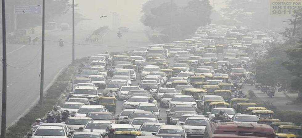 'We are witnessing a public health emergency in our cities as polluting air is choking our lungs' (PHOTO: PTI)