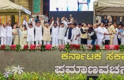 Insecurity tugs Congress-JDS survival in Karnataka