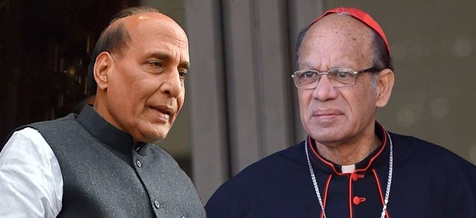 Head of Catholic Bishops' Conference meets Rajnath