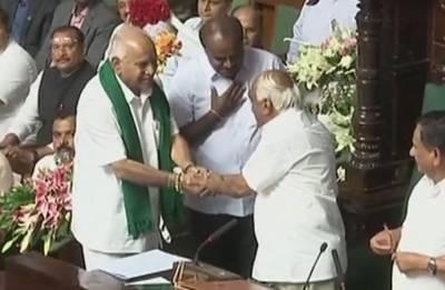 Karnataka CM HD Kumaraswamy wins floor test as BJP walks out of Assembly