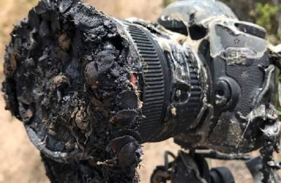 NASA camera melted during SpaceX Falcon 9 launch captures its own demise