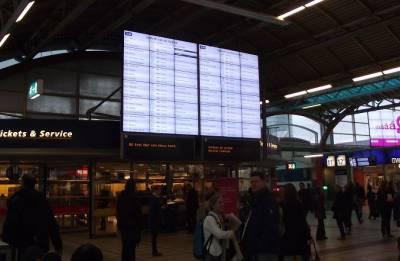 Train delays: Railways to play video on platform information screens