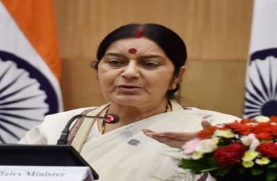Pakistan always distorts history and doesn't believe in law, says Sushma Swaraj