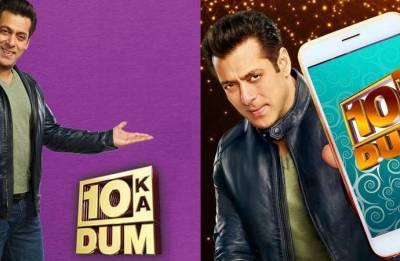 Dus Ka Dum 3 host Salman Khan says he was scared to show real self on TV