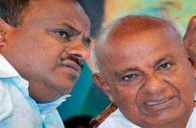 Deve Gowda did not interfere in ministry formation-portfolio, says HD Kumaraswamy