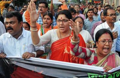 BJP strike affects normal life in West Bengal's Purulia district