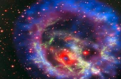 Watch the lonely star outside the Milky Way Galaxy