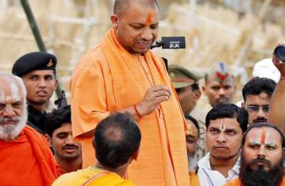 Enraged over Naqvi's Ram temple remark, Ayodhya Mahants meet Yogi Adityanath