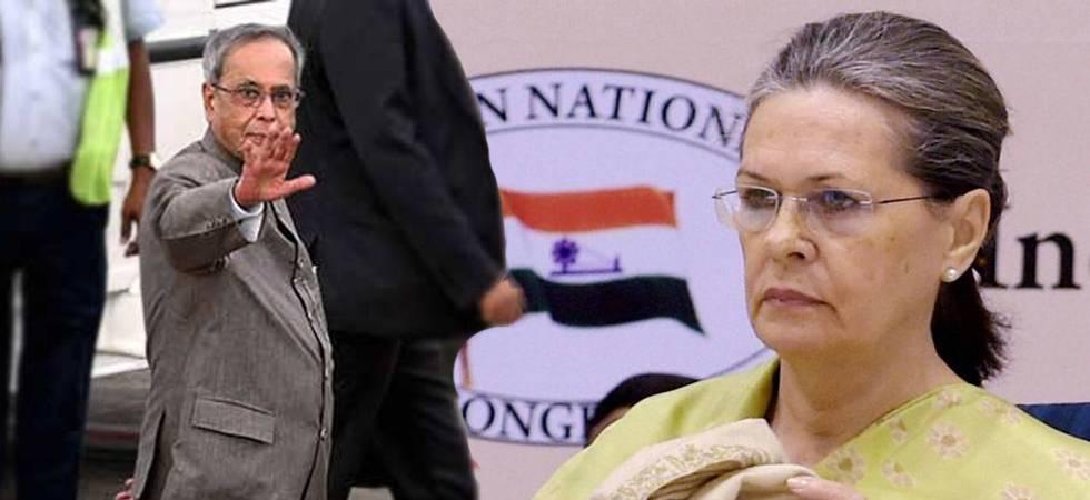 Tweet condemning Pranab Mukherjee for RSS event were Sonia Gandhi's words