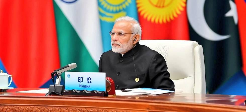 PM Modi during the SCO Summit 2018 (Photo: Twitter/MEA)