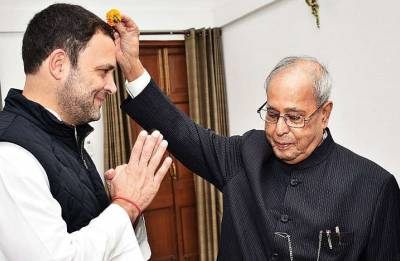 Pranab Mukherjee to attend Congress president Rahul Gandhi's Iftar event on June 13
