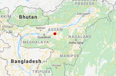 Houses shake as Assam rattled by 5.1 magnitude earthquake