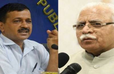 Withdraw cases, get additional water supply: Khattar to Kejriwal