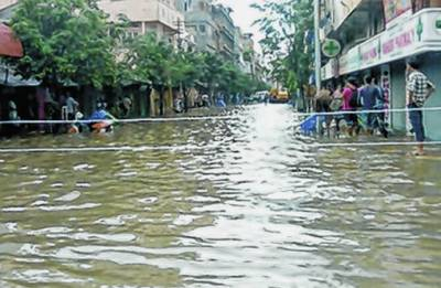 Roads turn into rivers as heavy rains trigger flash floods in Imphal Valley