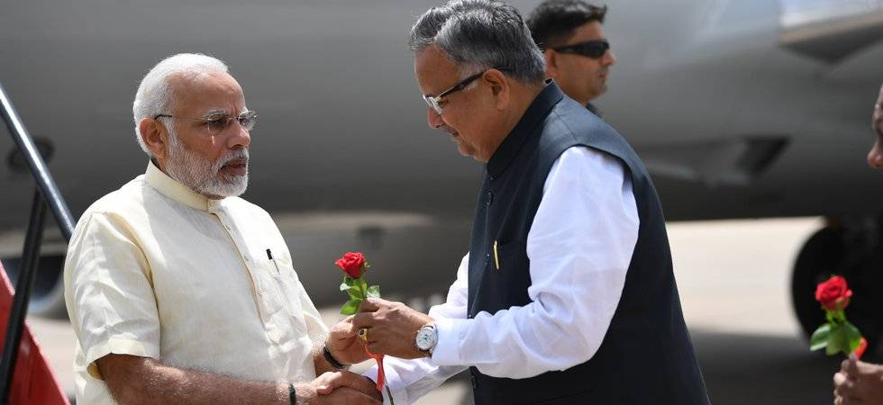 Development is the only answer to violence, says PM Modi in Chhattisgarh