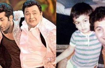 Ranbir Kapoor shares Sanju teaser featuring reel-life daddy Paresh Rawal; gives 'Jaadu Ki Jhappi' to real father Rishi Kapoor