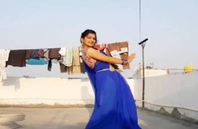 After 'Dancing Uncle', THIS girl is the new internet sensation!