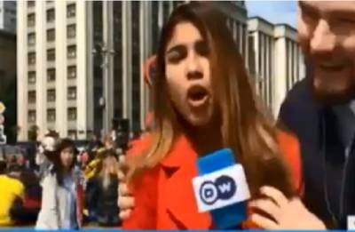 Reporter groped, kissed during live FIFA World Cup broadcast in Russia