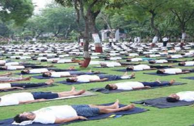 13,000 prisoners performed at Yoga Day event in Delhi