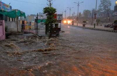 Heavy rains lash south Gujarat; Valsad gets maximum showers