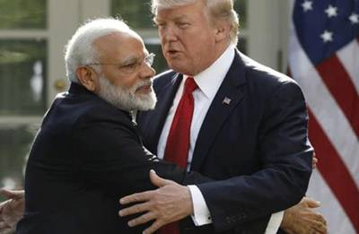 Ahead of maiden 2+2 meet, Trump accuses India of charging 100 per cent tariffs