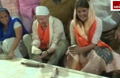 Watch: When Nikki Haley turned Namrata Randhawa at Gurudwara Sis Ganj Sahib