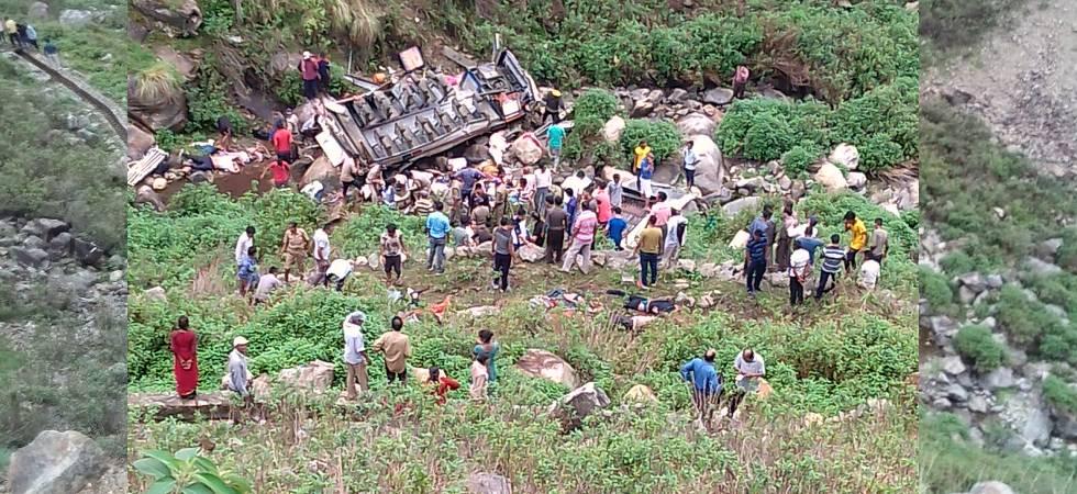 Uttarakhand: 40 killed as bus falls down in 700-feet deep gorge in Pauri Garhwal