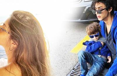 Shah Rukh, Suhana's 'Sunkissed' picture from Barcelona is the cutest thing you will see today on Internet!