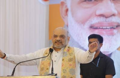 Spread like fire to ensure victory in 2019 Lok Sabha elections: Amit Shah to BJP social media volunteers