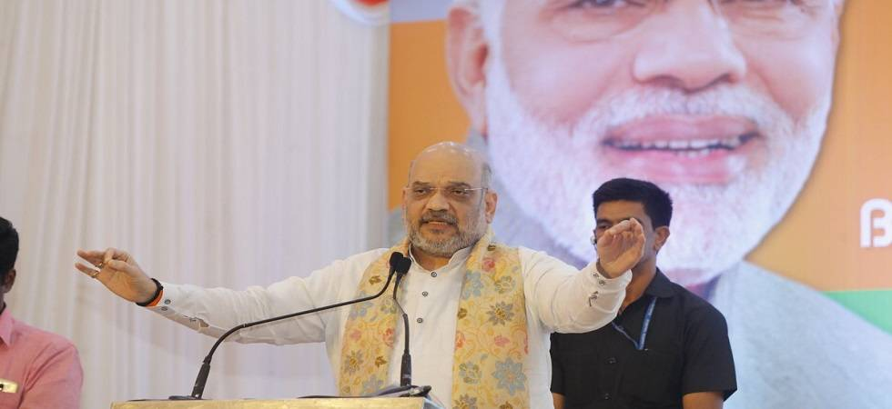 Spread like fire to ensure victory in 2019 Lok Sabha elections, Amit Shah to BJP social media volunteers (Photo: Twitter)
