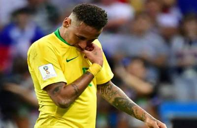 FIFA World Cup 2018: Brazil exit 'saddest moment of my career,' says Neymar