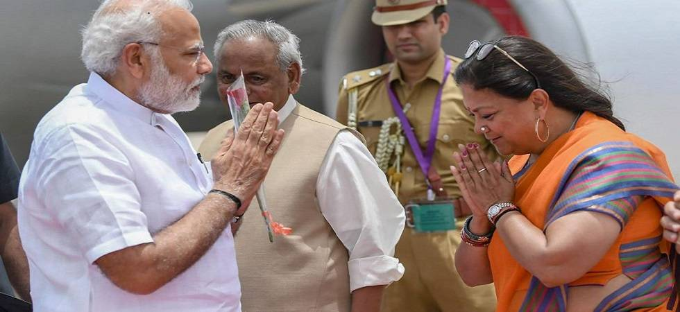 PM Narendra Modi addresses public meeting in Jaipur today (File Photo)