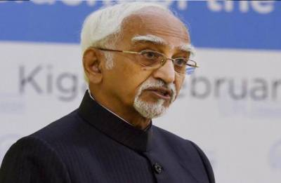 Hamid Ansari supports Tharoor's 'Hindu Pakistan' statement, says 'he is a learned man'