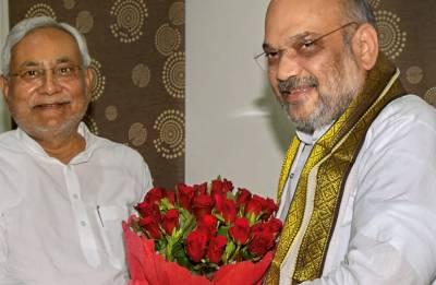 Amit Shah Patna visit LIVE: BJP president meets Nitish Kumar over breakfast; to hold talk again over dinner