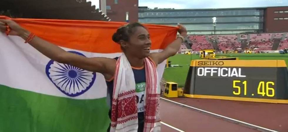 Hima Das scripts history, becomes first woman to win gold in World Junior Athletics Championships (Photo: IAAF)