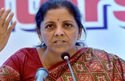 Congress responsible for dividing India, says Nirmala Sitharaman