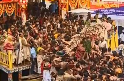 Jagannath Rath Yatra: Annual Lord Jagannath Rath Yatra heads to Gundicha Temple in Puri