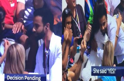 India vs England: Marriage proposal during match at Lord's becomes internet sensation