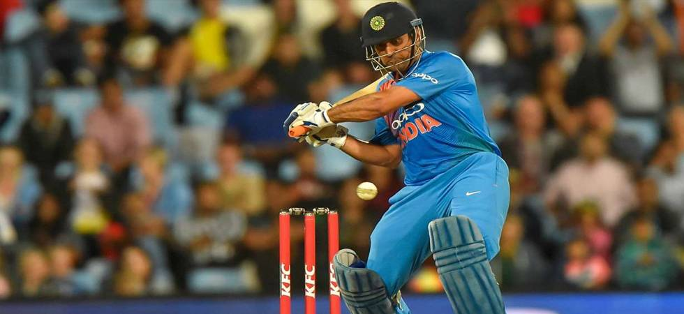 MS Dhoni becomes 4th Indian batsman to score 10,000 runs in ODIs (Photo: PTI)