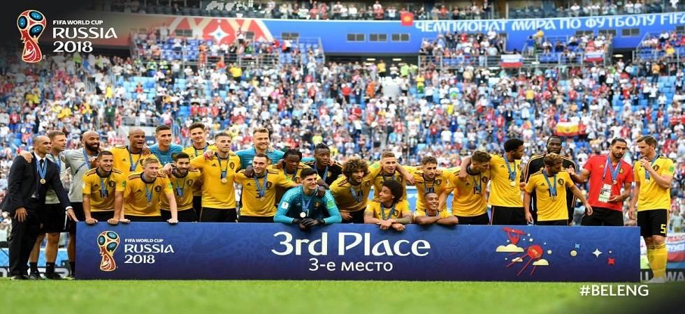 FIFA World Cup 2018 Live Score, Belgium vs England at Saint Petersburg