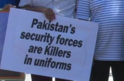 Boycott Pakistan elections: Protests outside White House over atrocities against refugees by ISI