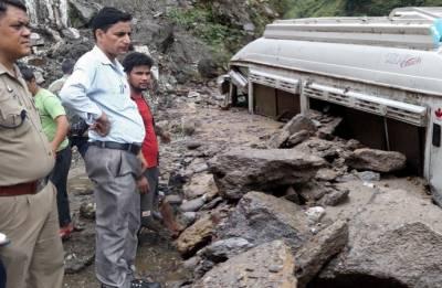 Rain batters Gujarat, cloudburst in Uttarakhand, landslide hits Himachal