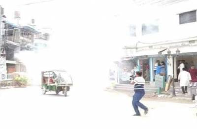 Five injured in bomb blast at BNP rally for civic polls in Bangladesh